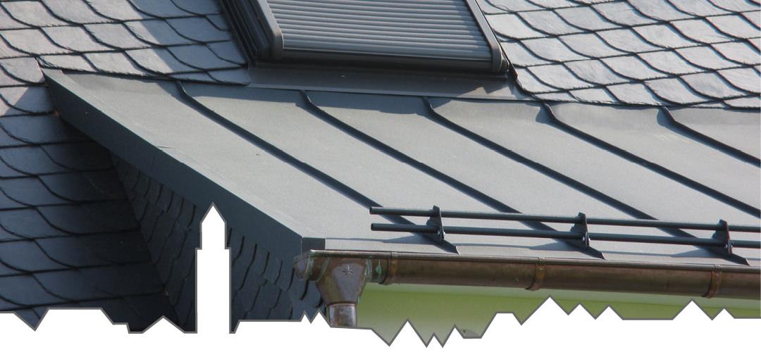 Metalldach vom Dachdeckermeister